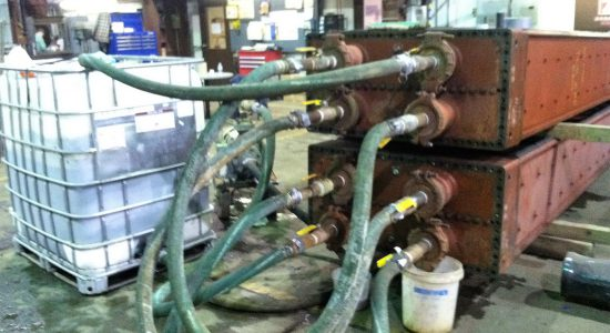 Heat Exchanger Chemical Circulation Cleaning Nhe