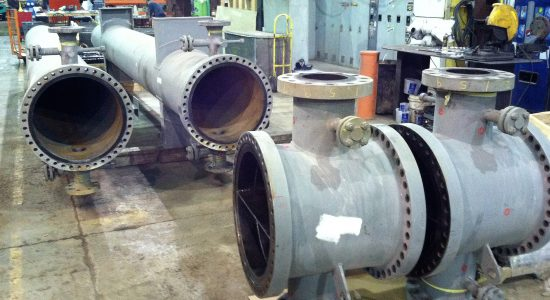 Shell and tube heat exchanger shells